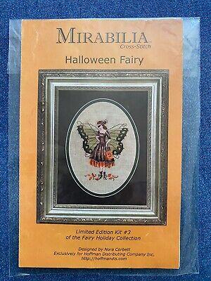 Nora Corbett Halloween Fairy (Halloween Fairy - Mirabilia Limited Edition Nora Corbett Cross Stitch Chart)