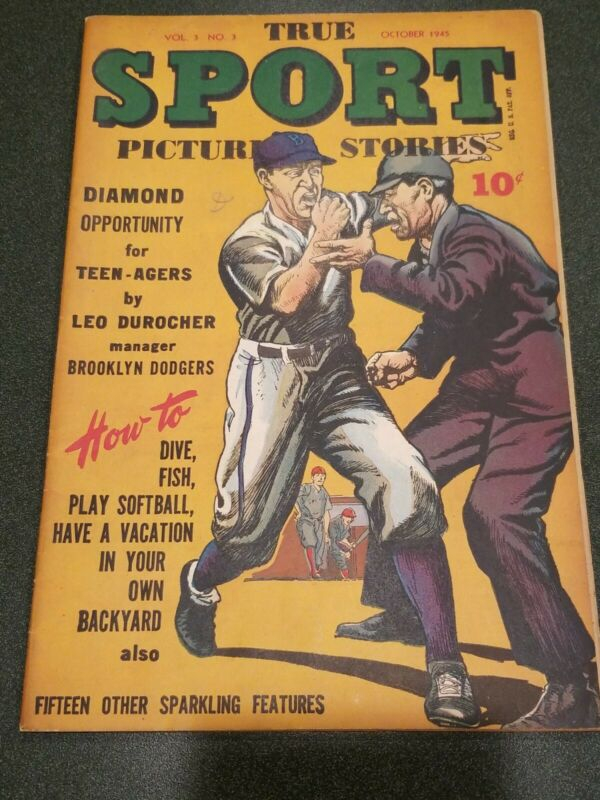 True Sport Picture Stories Vol. 3 #3 GD+ 2.5 1945