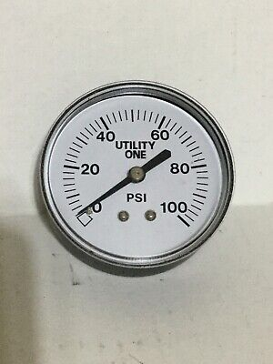 New Utility Series One Ut 1022 Pressure Guage 2-12 0-100 Psi