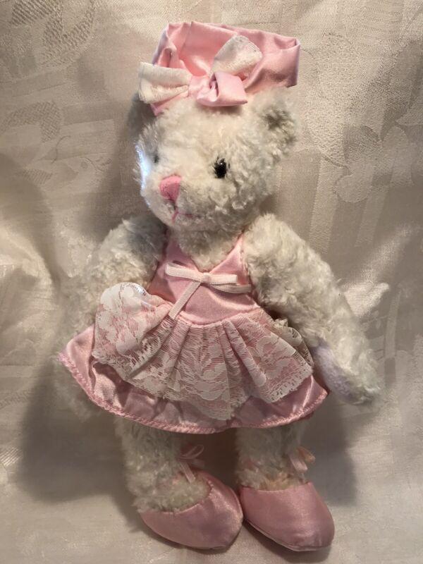 vintage ballerina teddy bear
