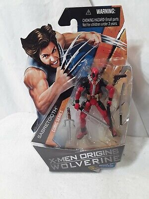 "MARVEL 3.75"" FIGURE: DEADPOOL (IN SABRETOOTH MARKED CASE), brand new"