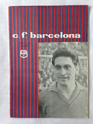 1960 FAIRS CUP FINAL BARCELONA V BIRMINGHAM CITY
