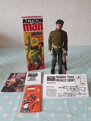 VINTAGE ACTION MAN 40TH ANNIVERSARY Basic Soldier, NEW, BOXED