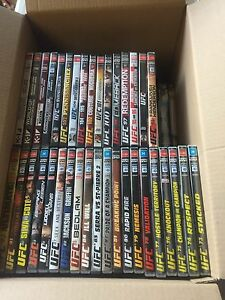 UFC/MMA DVD COLLECTION Wantirna Knox Area Preview