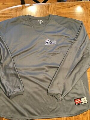 RAWLINGS GRAPHITE DRI-FIT NEW ENGLAND PATRIOTS SWEATSHIRT, QTY 2-3XL, NEW