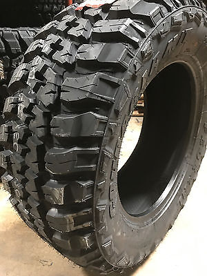 4 NEW 35X12.50R20 Federal Couragia Mud Tires M/T 35125020 R20 1250 12.50 35 20