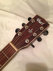 Cort Earth 200 Acoustic Guitar with Case