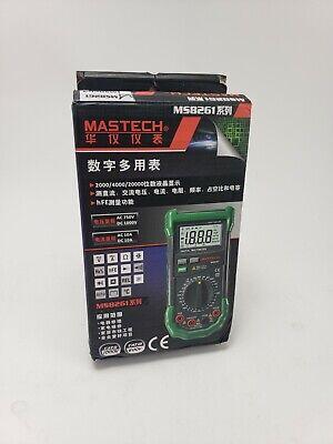 Original Mastech Ms8261 Digital Multimeter Current Resistance Capacitance Test