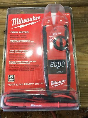 Milwaukee 2205-20 True Rms Fork Meter
