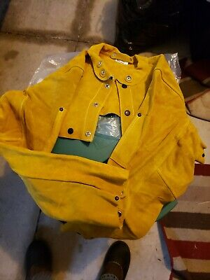 Comfort 710-6-s Leather Welder Cape Sleeves Size Small S Welder Safety