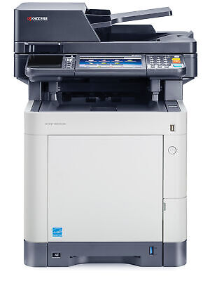 Kyocera Ecosys M6535cidn A4 Color Laser Copier Printer Scanner Fax Mfp 37 Ppm
