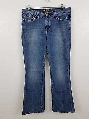 lucky brand jeans 10 30 medium wash sweet n low distressed womens pants leslie