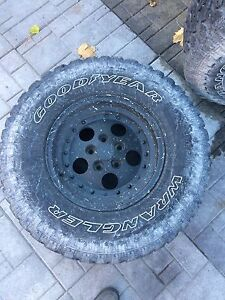PRICE DROP!!Selling 31' and 28' tires and rims for jeep Belleville Belleville Area image 2