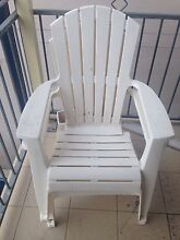 White Plastic deck chairs Enmore 2042 Marrickville Area Preview