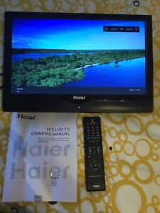 Haier 19 inch lcd tv for camping trailer