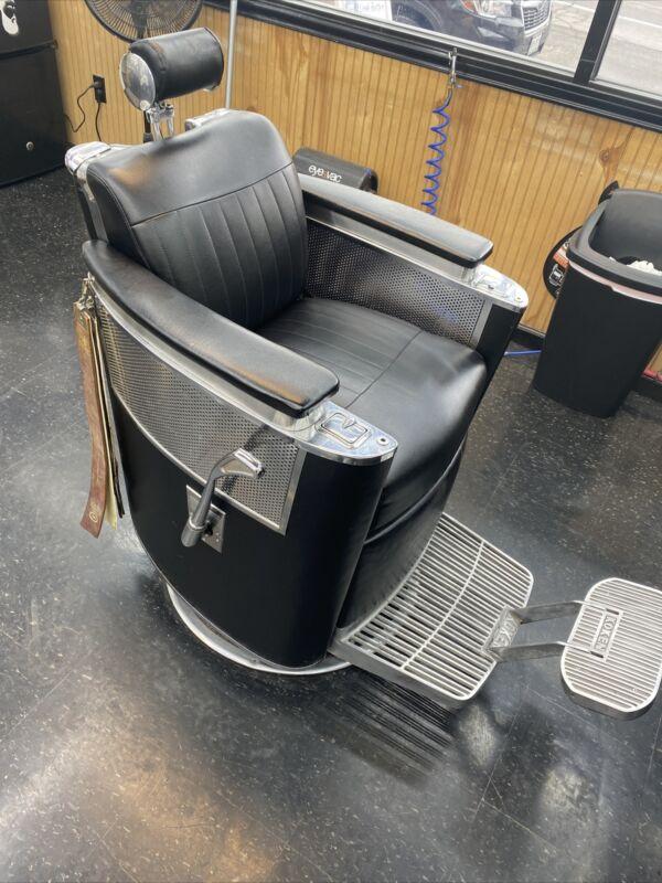 koken barber chair vintage