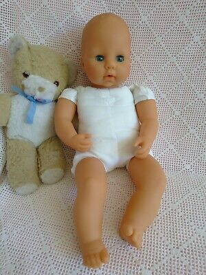 """18"""" Baby Doll To Dress ~ Vinyl /Soft Baby Annabell Doll from 1998 Please Read"""