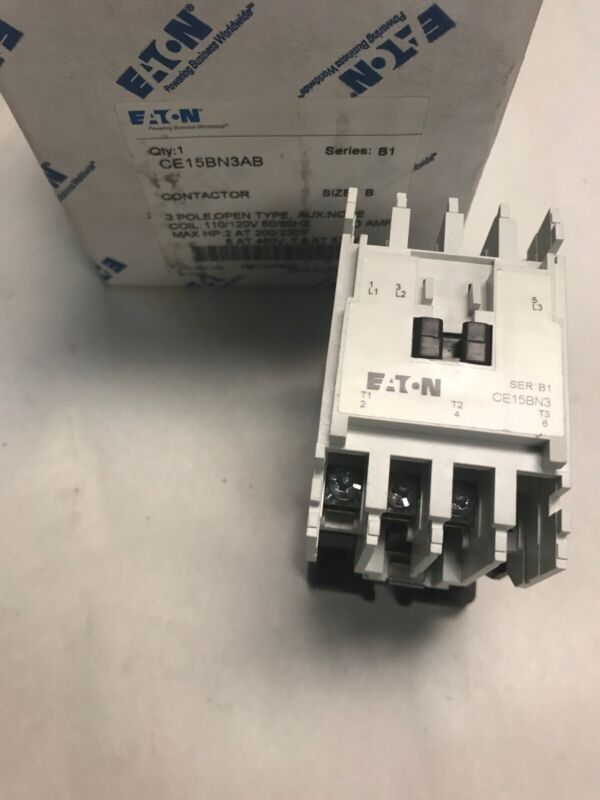 Eaton CE15BN3AB Contactor Series B1 Size B