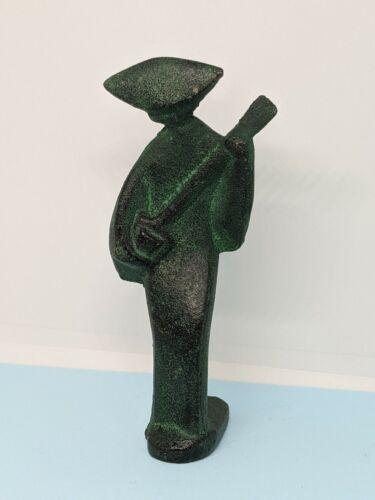 Vintage Cast Iron Asian Japan Women Decorative Collectible Metal Figurine