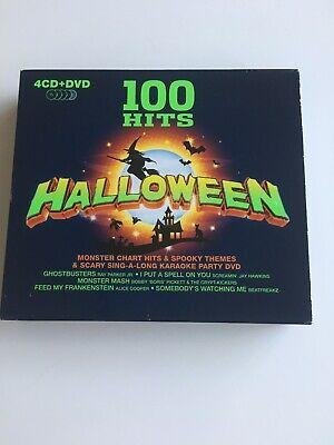 100 Hits Halloween (Various Artists : 100 Hits: Halloween CD Box Set with DVD 5 discs)