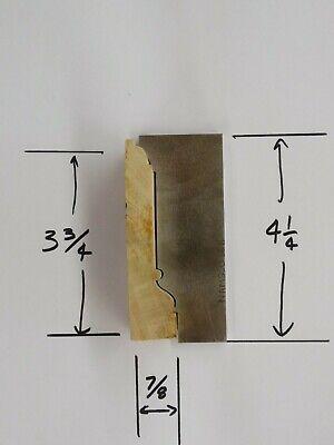 Shaper Moulder Custom Corrugated Back Cb Knives For 3 34 Casing