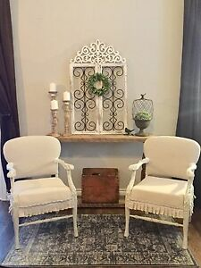 Stunning antique armchairs