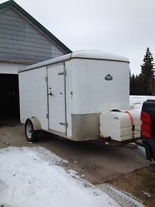 2013 carry-on 6x12 enclosed trailer
