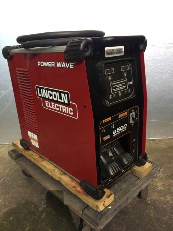 Lincoln Powerwave S-500 Welder