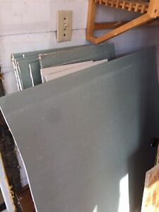 Leftover mold tough drywall