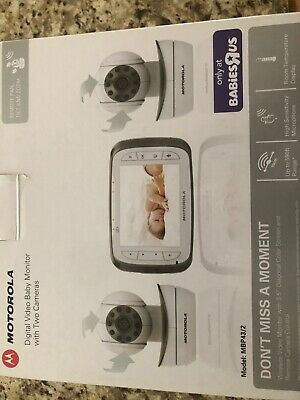 Motorola Digital Video Baby Monitor with two cameras MBP43/2 perfect