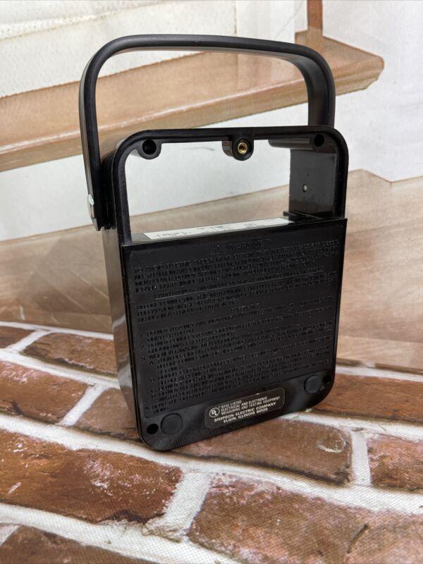 Simpson 260 Multimeter Black Bakelite Back Cover and Handle