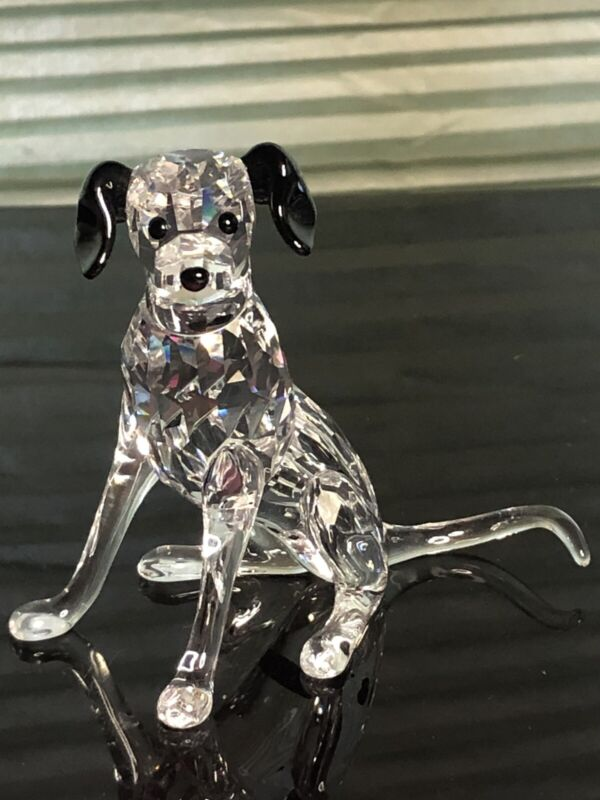 Swarovski Crystal Mother Dalmatian Dog Sitting 628948 Peaceful Countryside