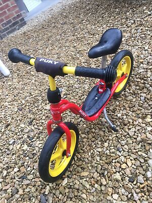 Puky balance Red. Used, in good condition.yellow Best Balance Bike Ever!