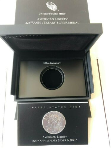 OGP Box & COA - 2017 P American Liberty Silver Medal 225th Anniv  - No Coin