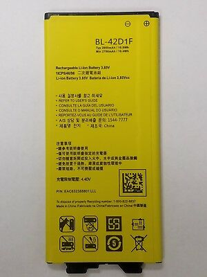 Replacement Battery For Lg G5 H820 At T Bl 42D1f Li Ion 3 85V 2800Mah