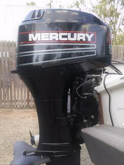 40 HP Mercury with Forward Contols