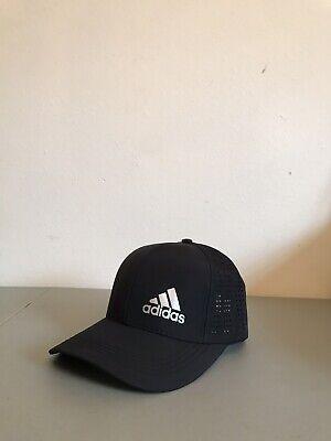 Adidas Base Ball Black Hat Adjustable Back.