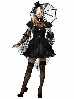 Women's Victorian Doll Costume SIZE XS 4-6 (with defect)