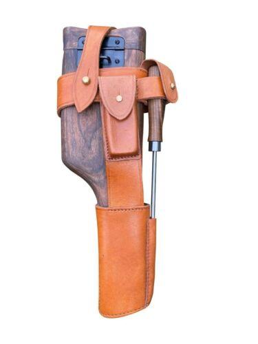 German WWI Mauser Wood Buttstock Holster Set