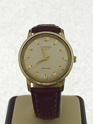 RARE Longines 2298-SW Automatic 14K Solid Yellow Gold Cal. 19AS 17 Jewels Watch