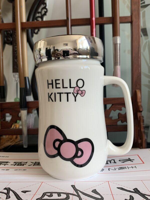 Hello Kitty ceramic mug with Mirror - New!