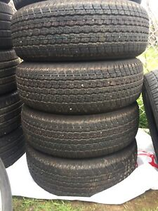 p265/60/18 inch Bridgestone All Season Tires / GOOD DEAL