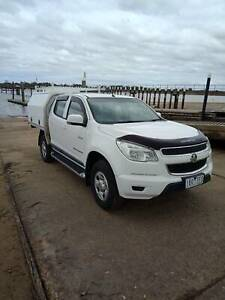 Holden Colorado 4x4 dual cab for sale, low ks, tray