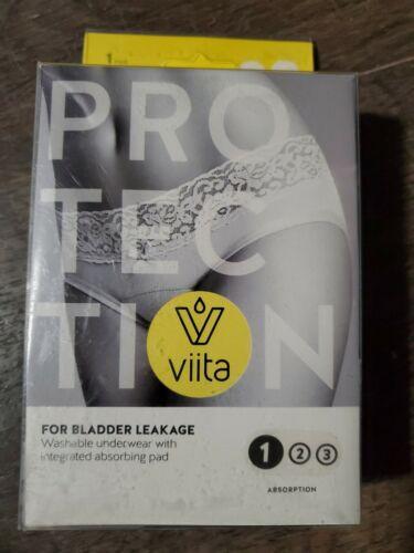 New Viita Protection For Bladder Leakage Comfort Hipster Medium Black - $12.99