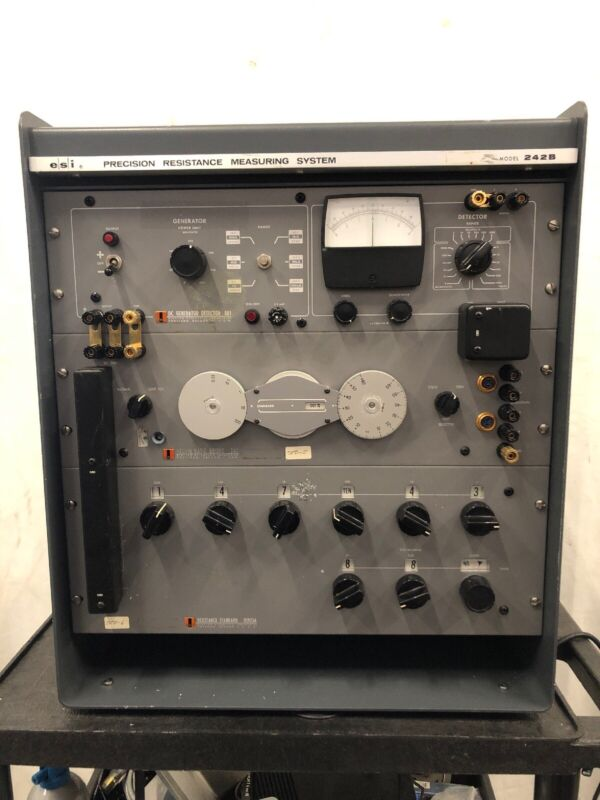 ESI 242B Precision Resistance Measurement System RS925A
