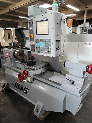 Haas Tl-2 Cnc Flat Bed Lathe Turning Center. Low Hours Loaded