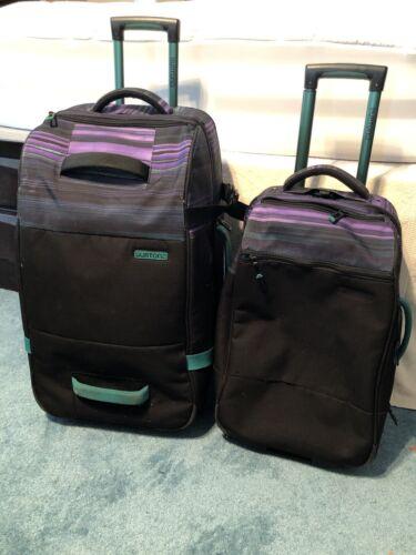 Burton Luggage Wheelie Double Deck 86L Checked Case 40L Carry On Bag Suitcase - $250.00