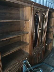 Bookshelf and display cabinet