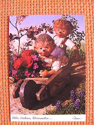 Postkarte AK Mecki Nr. 443  * Alle lieben Wünsche  *