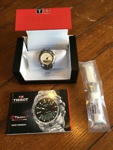 Tissot T-Touch II Ladies Chronograph Quartz Watch